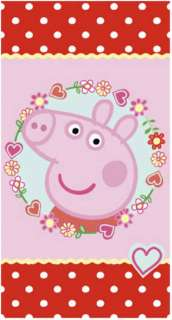 Childrens Rooms  Peppa Pig & George  Peppa Pig Rug   Polka Dot