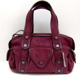 Gianni Bini Dallas Crimson Red Burgundy Handbag: Clothing