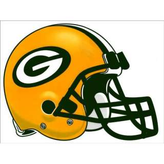 Packers Helmet XL Decal Removable Vinyl Sticker Officially licensed