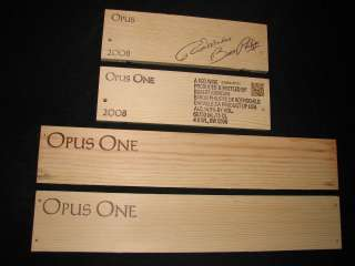 . LOTs of ROBERT MONDAVI WINERY and OPUS ONE Wine Crate PANELS