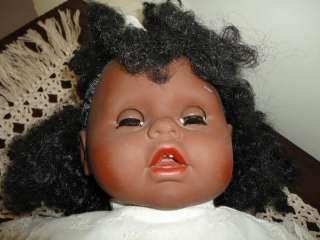 Original African JESSIE Doll Quebec Canada 2 feet 1990