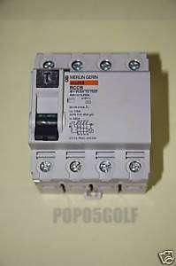 Merlin Gerin RMG403004   40A 300mA 4P RCCB (RMG) New