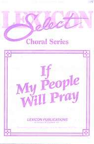 If My People Will Pray Sheet Music by Jimmy Owens  Sheet Music Plus