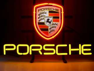 New Porsche Auto Neon Light Sign Gift Pub Bar Beer Sign N28