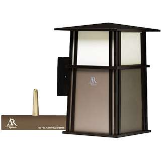 Acoustic Research Outdoor Wireless Speaker and Wall Lantern