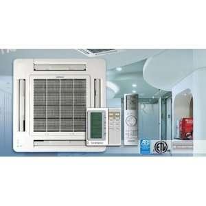 Single Zone Casette Heat Pump Mini Split Air Conditioner With Smart