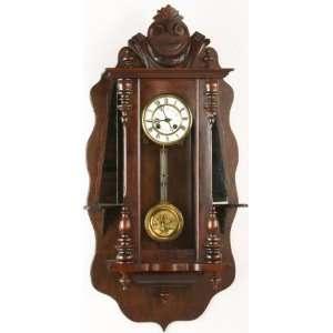 Antique German Wall Clock Regulator Regulateur Flamenco