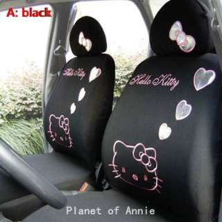 Hello kitty Car Truck Seat Covers 10pcs Accessory Set