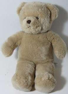 Build a Bear Workshop TAN TEDDY BEAR Stuffed Plush Animal Soft Shaggy