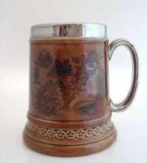 Lord Nelson Ware Pottery Stein Tankard Bermuda