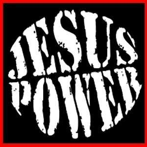 JESUS POWER (Christian Bible Christ God Faith) T SHIRT