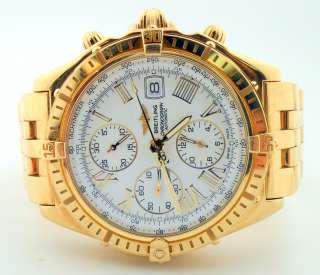Breitling Crosswind Chronograph 18k Gold