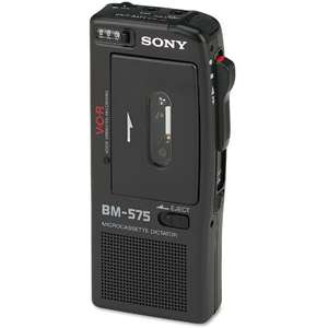 BM 575 Voice Activated Micro Cassette Recorder iPods &  Players