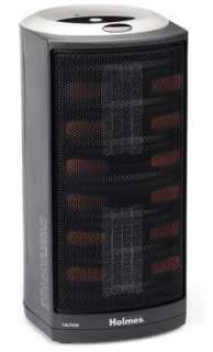Holmes Ultra Quiet Dual Ceramic Portable Space Heater w/ Adjustable