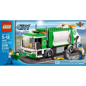 LEGO City Garbage Truck: Building Blocks & Sets