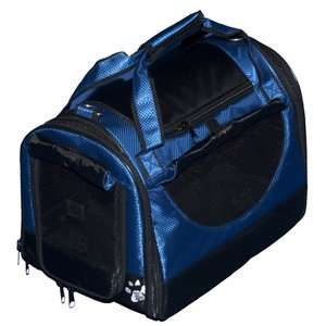 Pet Gear World Traveler Tote Bag Pet Carrier in Pacific Blue Dogs
