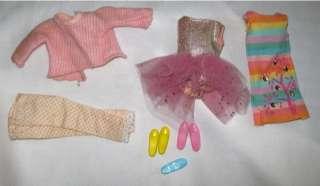 VTG SKIPPER & SKOOTER Doll Case & Clothing 1963/1965