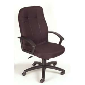 Boss Office Products High Back Fabric Executive Chair