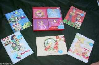 New Disney Christmas Cards Princess,Tink, Toy Story