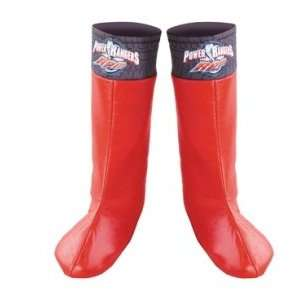 Power Ranger Red Boot Covers Costume Accessory Toys & Games
