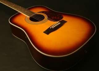 GITANO ACOUSTIC GUITAR Sunburst 39 children guitar setup f/ beginner