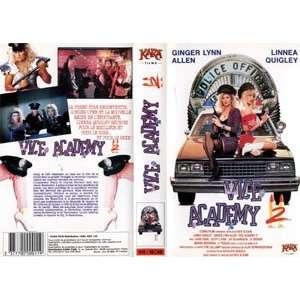 Vice Academy [VHS] Linnea Quigley, Ginger Lynn Allen