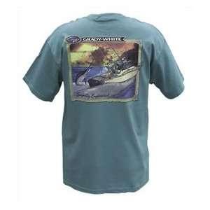 Grady White Boats Marine Green Adult T Shirt Large Sports