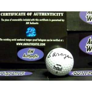 Gene Sarazen signed Golf Ball SIGNED JUST WITH HIS LAST NAME SARAZEN