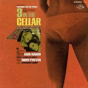 cellar LP SOUNDTRACK, Don Randi, Dory Previn, Hamilton Camp Music