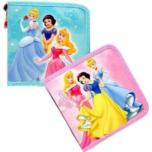 Disney Princess CD DVD CASE Set of 2 Electronics