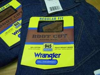 1980s Mens Wrangler Boot Jeans 945NAV sz 31x29(2) USA