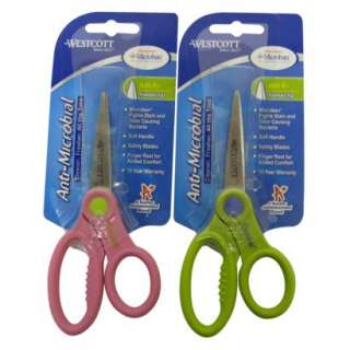 Microban Anti Microbial Pointed Tip Scissors 5.Opens in a new window