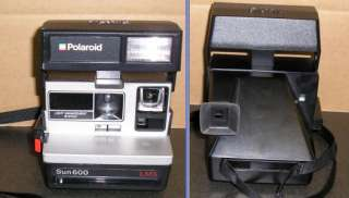 Vintage Polaroid Sun 600 LMS Land Instant Camera