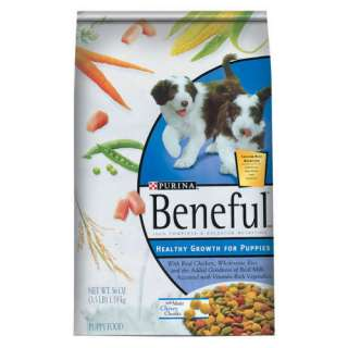Beneful Healthy Growth For Puppies Dog Food, 3.5 Lb Dogs