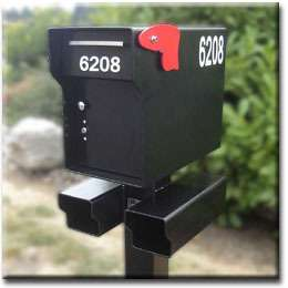 FORT KNOX MAILBOX~1/4 Steel HEAVY DUTY locking mailbox