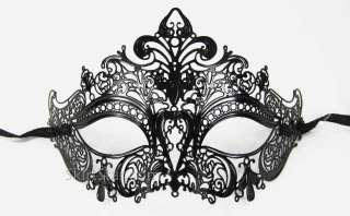 VENETIAN MASK masquerade costume BLACK NEW WEDDING ball fancy dress