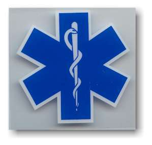 EMS Medical Logo WINDOW Sticker Decal EMT Rescue NEW