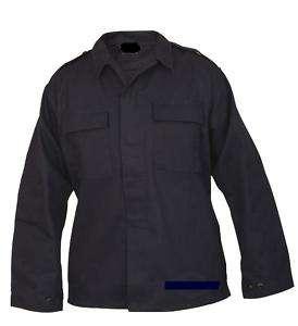 Mens Military Navy 2 Pocket Tactical Shirt Rip Stop