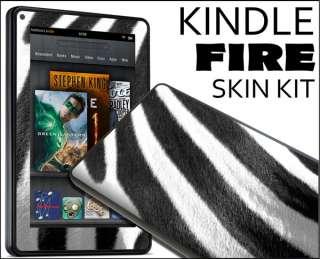 Kindle Fire Skin Vinyl Decal eBook Netbook Tablet #024 Zebra