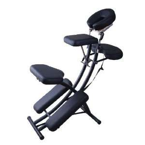 Black 2 Portable Folding Massage Chair Tattoo Spa w