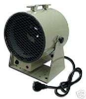 Fan Forced Portable Unit Heater, Swivel, Electric