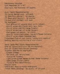 5 minute table runner pattern on popscreen for 10 minute table runner directions
