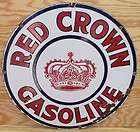 30 RED CROWN GASOLINE Standard Oil Sohio BlueLine Sign