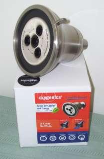 IntelliShower Brushed Nickel Shower Head 2 Spray Settings 52525 NEW