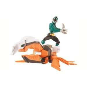 Power Rangers Samurai Zord Vehicle Set   Green