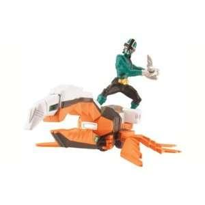 Power Rangers Samurai Zord Vehicle Set   Green