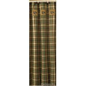 Scotch Pine Pine Cone Shower Curtain Home & Kitchen