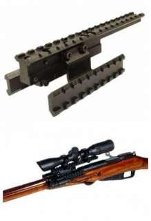 Mosin Nagant 91 M44 Tactical Tri Rail Scope Mount Tree Style
