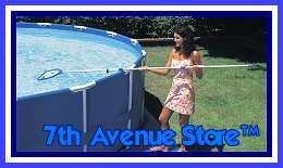 15x48 Intex Metal Frame Above Ground Pool Easy Set Up