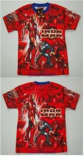 A#3 IRON MAN Boy Kids T  Shirt Age 7 8 size L